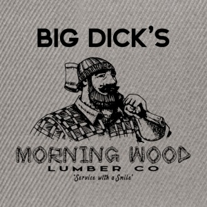 Morning Wood Lumber Lumberjack - Snapback Cap