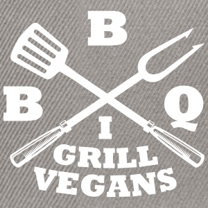 Barbecue in grill vegans (BBQ) - Snapback Cap