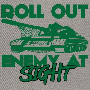 Military / Soldier: Roll Out Enemy At Sight - Snapback-caps