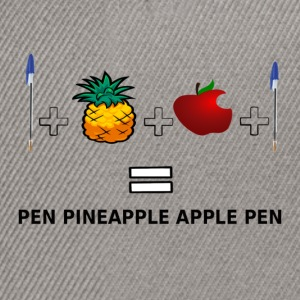 PINEAPPLE APPLE PEN - Snapback Cap