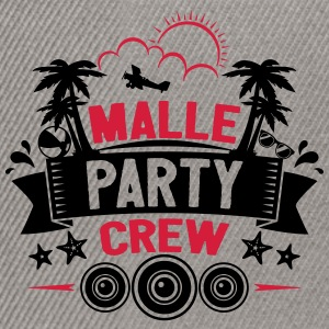 Malle Party Crew - Snapbackkeps