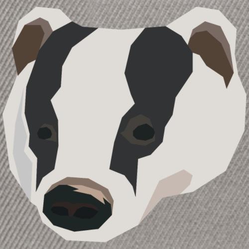 Geometric Badger - Snapback cap
