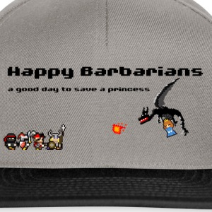 Happy Barbarians - A good day to save a princess - Snapback Cap