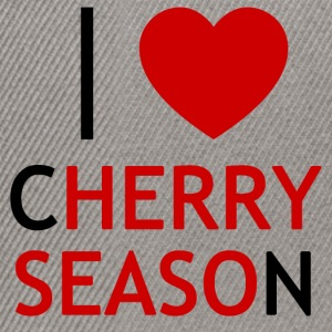 I Love Cherry Season T-Shirt - Snapback Cap