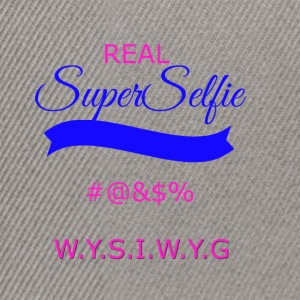superselfietransparant - Snapback cap