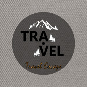 Travel + Escape - Snapback Cap