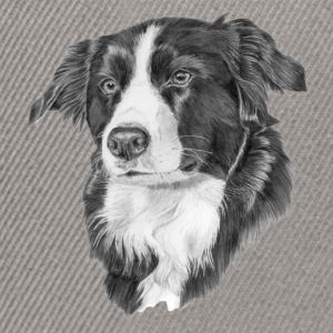 border collie 2 - Czapka typu snapback