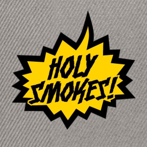 """Holy Smokes!"" - Casquette snapback"