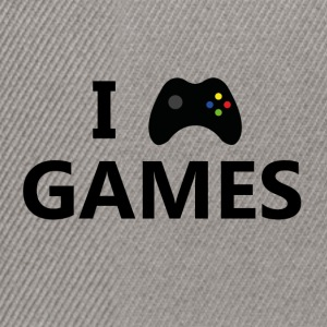 I Love Games 3 - Snapback Cap