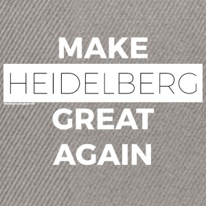 MAKE HEIDELBERG GREAT AGAIN weiß - Snapback Cap