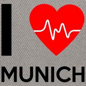 I Love Munich - I love Munich - Snapback Cap