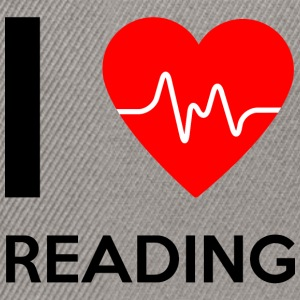 I Love Reading - I Love Reading - Snapback Cap