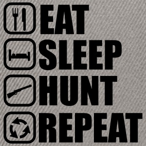 Eat sleep hunt - Hunter - Hunting - Snapback Cap