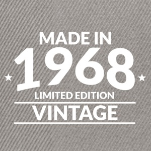 Made in 1968 - Limited Edition - Vintage - Snapback Cap