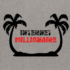 INTERNET MILLIONAIRE COLLECTION - Casquette snapback