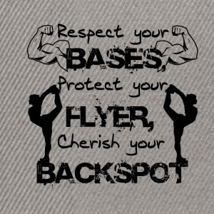Respect your base. , , - Snapback Cap