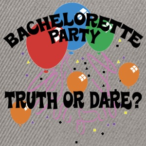 Bachelorette Party Truth or Dare - Snapback Cap