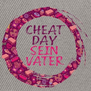 Cheatday Seinvater hashtag Print - Snapback Cap