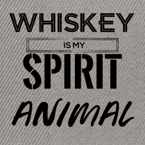 Whiskey is my Spirit Animal - Snapback Cap