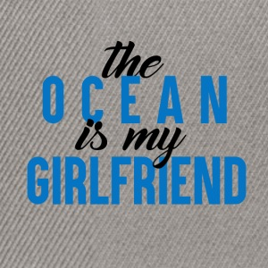 The Ocean is my GF - Snapback Cap