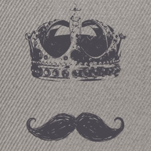 king Moustache - Snapback Cap