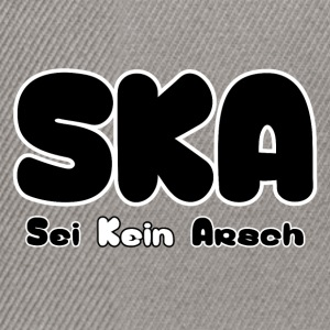 SKA was not ass - Snapback Cap