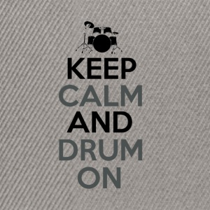 Keep Calm and Drum On - Drummer Passion - Snapback Cap