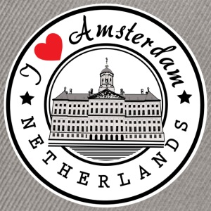 Amsterdam I Love You - Snapback Cap