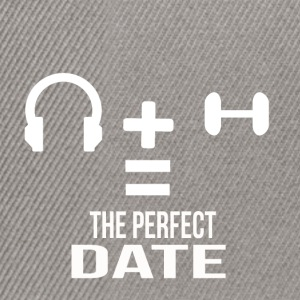 the perfect date - Snapback Cap