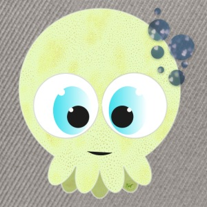 Green Baby Squid - Snapback Cap