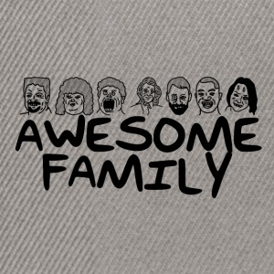 Awesome Family <3 - Snapback Cap