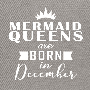Mermaid Queens December - Snapback Cap