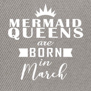 Mermaid Queens March - Snapback Cap