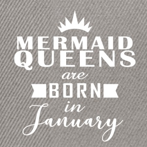 Mermaid Queens January - Snapback Cap