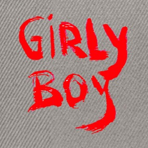 GIRLY BOY - Snapback Cap