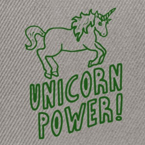 Unicorn - Power! - Snapback Cap