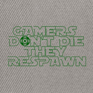 Gamer - Respawn - Snapback Cap