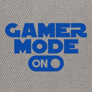 Gamer - Gamer Mode On - Snapback Cap