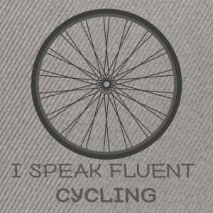 Bike: I speak fluent cycling - Snapback Cap