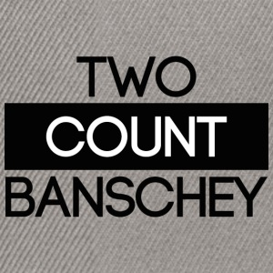 ''Two Count Banschey'' black - Snapback Cap