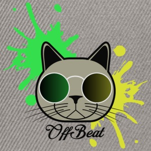 OffBeat Cat - Casquette snapback