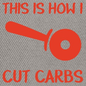 Firemen: This is how i cut carbs - Snapback Cap