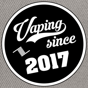 Vaping since 2017 - Snapback Cap