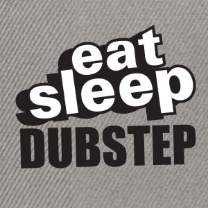 Eat Sleep Dubstep - Casquette snapback