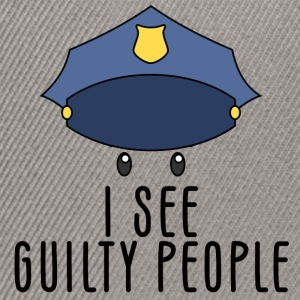 Polizei: I see guilty people - Snapback Cap