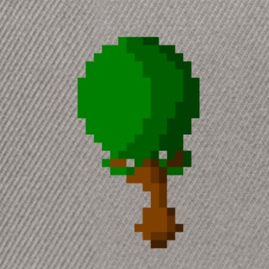 Happy Pixel Tree - Snapback cap