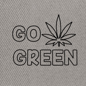 GO GREEN - Snapback-caps