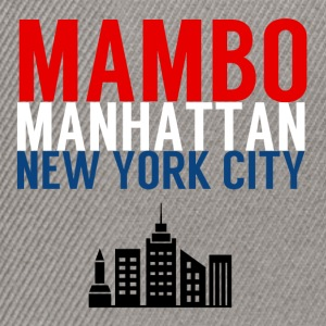 Mambo Manhattan New York City - Danceshirts - Snapback Cap