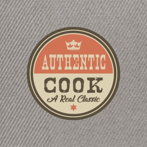 AUTHENTIC COOK - COOK - Snapback Cap