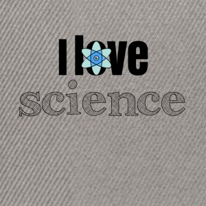 I love science - Snapback Cap